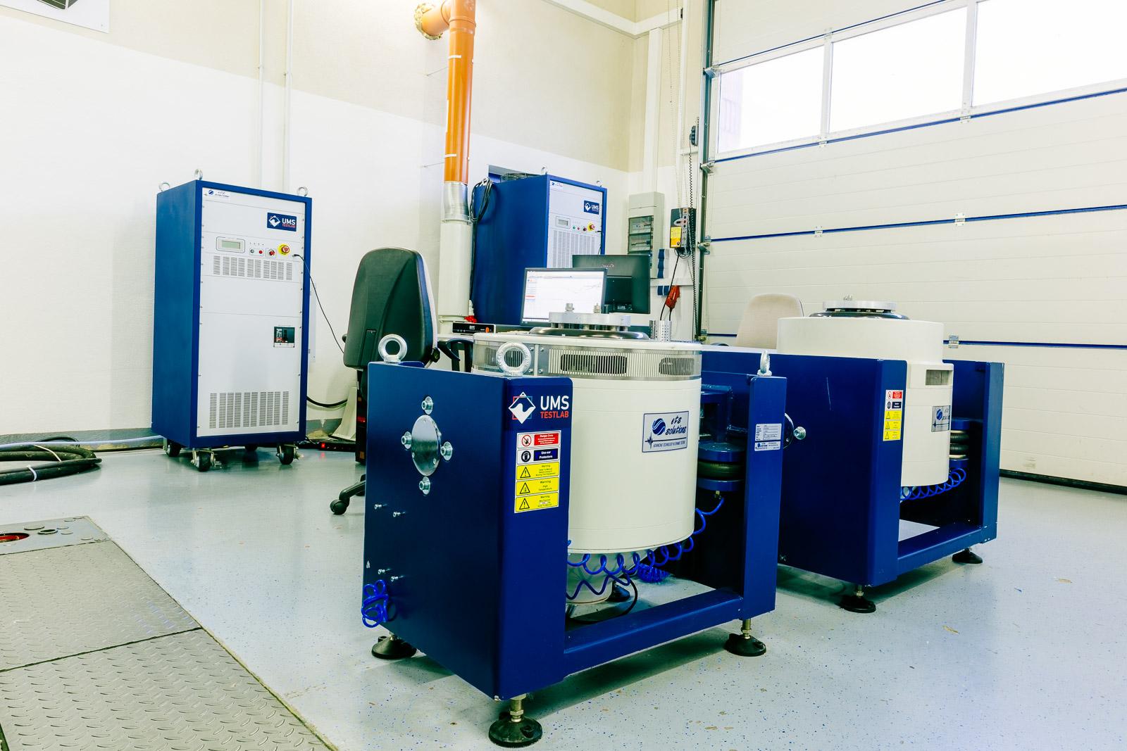 ETS 6 kN & 10 kN Shaker